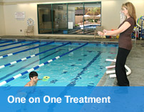 Aquatic therapy with personal treatment in Valencia